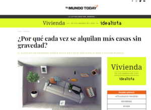 Idealista en El Mundo Today